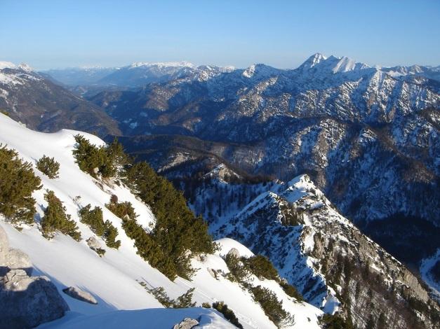 Foto: Manfred Karl / Ski Tour / Durch das Ostertal auf die Hörndlwand / Sonntagshorn und Reifelberge / 28.01.2009 22:19:28