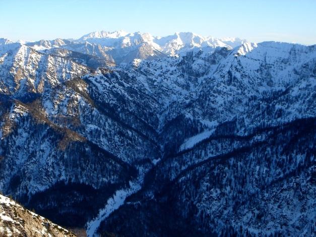 Foto: Manfred Karl / Ski Tour / Durch das Ostertal auf die Hörndlwand / Chiemgauer und Berchtesgadener Alpen / 28.01.2009 22:15:54