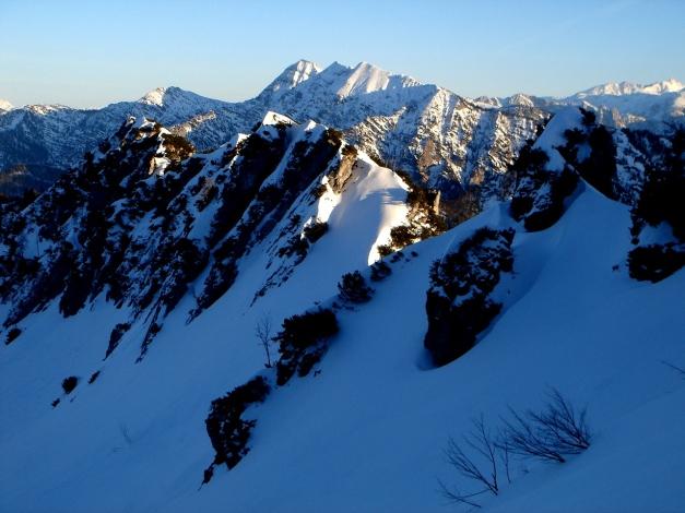 Foto: Manfred Karl / Ski Tour / Durch das Ostertal auf die Hörndlwand / Einfahrt ins Ostertal / 28.01.2009 22:14:49