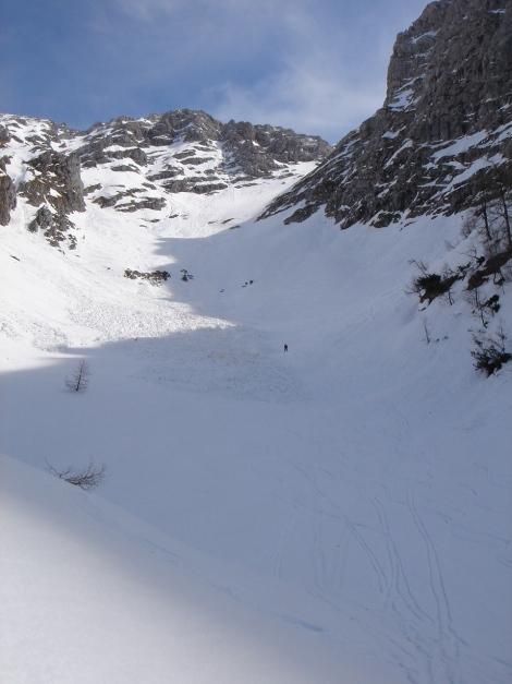 Foto: Manfred Karl / Ski Tour / Schneibstein, Bockskehl Abfahrt / Bockskehl / 28.01.2009 22:51:30