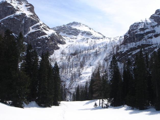 Foto: Manfred Karl / Ski Tour / Schneibstein, Bockskehl Abfahrt / Ebenfalls eine lohnende Abfahrt / 28.01.2009 22:51:15