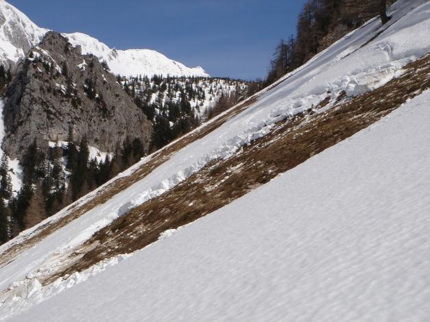 Foto: Manfred Karl / Ski Tour / Schneibstein, Bockskehl Abfahrt / Selbstauslösung / 28.01.2009 22:48:28