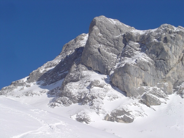 Foto: Manfred Karl / Ski Tour / Schartwand, 2339 m und Brietkogel, 2316 m / Aufstieg in die Tauernscharte / 29.01.2009 19:13:17