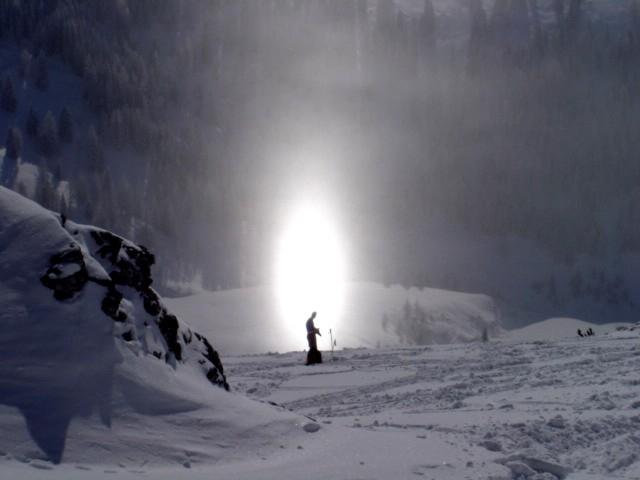 Foto: Manfred Karl / Ski Tour / Schartwand, 2339 m und Brietkogel, 2316 m / Ein Heiliger? / 29.01.2009 19:12:23