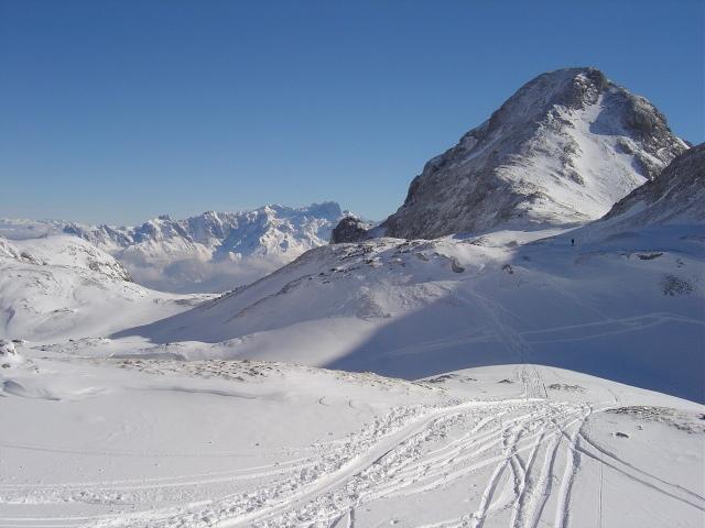 Foto: Manfred Karl / Ski Tour / Schartwand, 2339 m und Brietkogel, 2316 m / Tauernkogel mit Tauernscharte / 29.01.2009 19:11:20