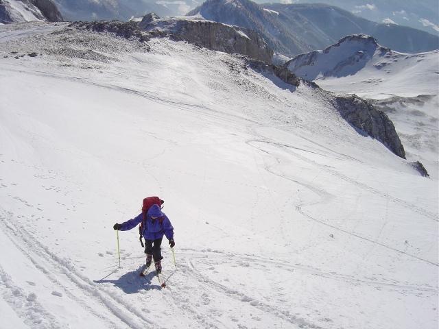 Foto: Manfred Karl / Ski Tour / Schartwand, 2339 m und Brietkogel, 2316 m / Aufstieg zur Schartwand / 29.01.2009 19:09:13