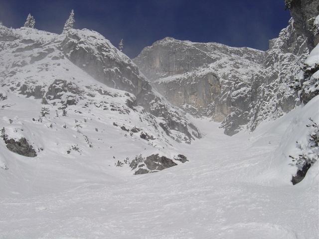 Foto: Manfred Karl / Ski Tour / Schartwand, 2339 m und Brietkogel, 2316 m / Rückblick / 29.01.2009 19:01:39