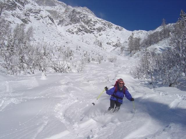 Foto: Manfred Karl / Ski Tour / Schartwand, 2339 m und Brietkogel, 2316 m / Herrlicher Pulverschnee im unteren Teil / 29.01.2009 19:00:30