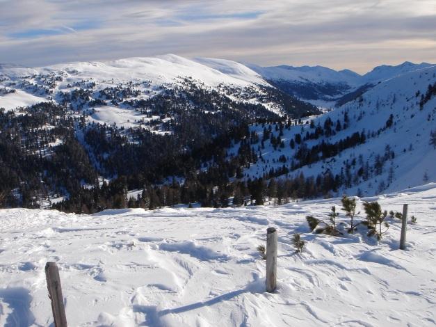 Foto: Manfred Karl / Ski Tour / Über die Steffeialm auf den Wirtsnock / Rosaninhöhe (siehe Alpintouren.at) / 29.01.2009 19:48:57