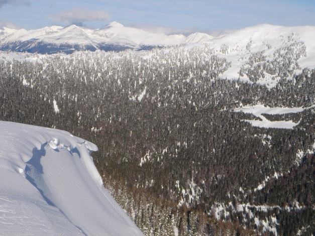 Foto: Manfred Karl / Ski Tour / Über die Steffeialm auf den Wirtsnock / Blick zum Preber / 29.01.2009 19:46:05