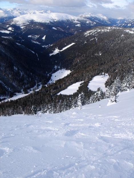Foto: Manfred Karl / Ski Tour / Mühlhauserhöhe, 2216 m / Blick hinaus zum Aineck / 29.01.2009 20:14:09