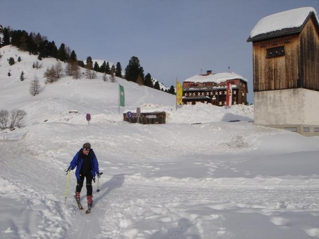 Foto: Manfred Karl / Ski Tour / Rosaninhöhe, 2280 m / Mehrl Hütte / 29.01.2009 20:50:53