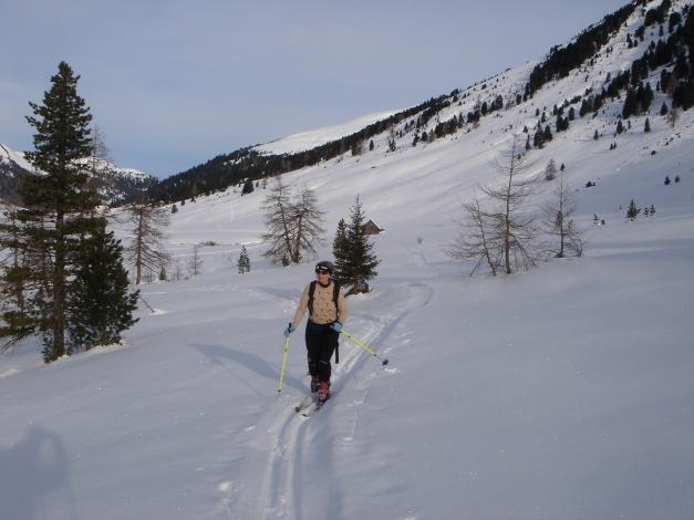 Foto: Manfred Karl / Ski Tour / Rosaninhöhe, 2280 m / 29.01.2009 20:49:00