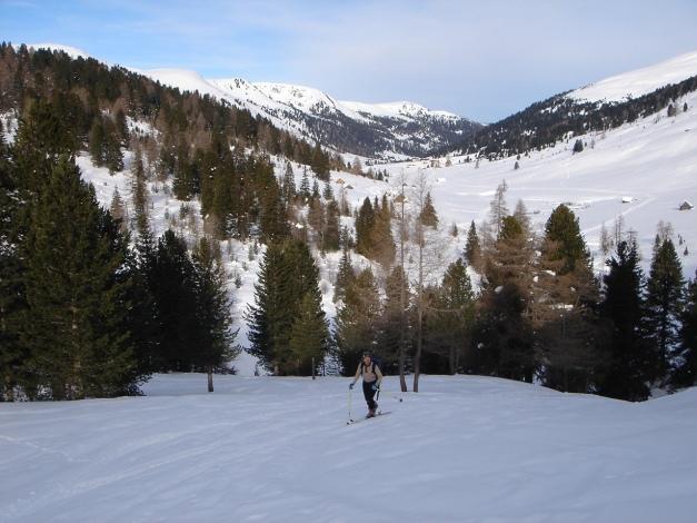 Foto: Manfred Karl / Ski Tour / Rosaninhöhe, 2280 m / Kurz vor der Rosaninalm / 29.01.2009 20:48:47