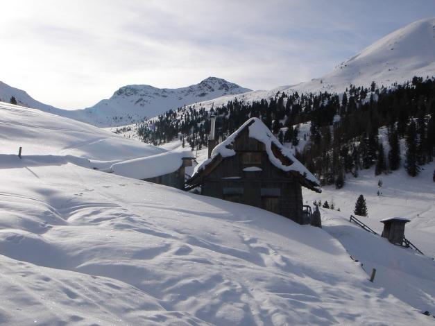 Foto: Manfred Karl / Ski Tour / Rosaninhöhe, 2280 m / Rosaninalm mit Königstuhl / 29.01.2009 20:48:24