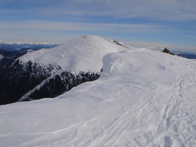 Foto: Manfred Karl / Ski Tour / Rosaninhöhe, 2280 m / Im Hintergrund der Kilnprein / 29.01.2009 20:40:18