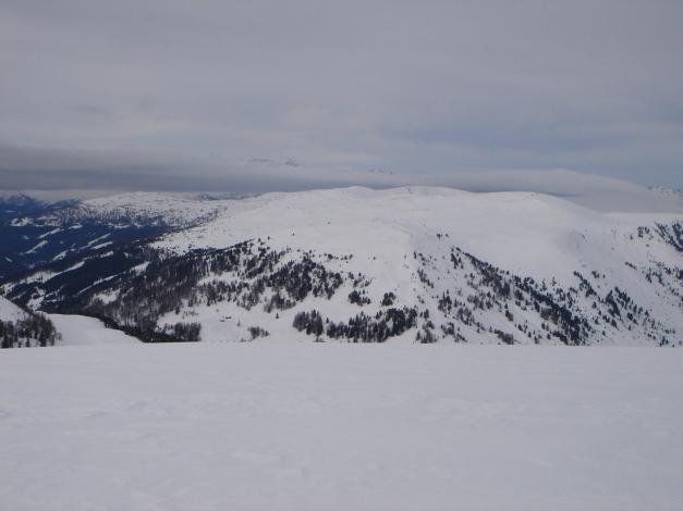Foto: Manfred Karl / Ski Tour / Rosaninhöhe, 2280 m / Rasche Wetterverschlechterung / 29.01.2009 20:37:45