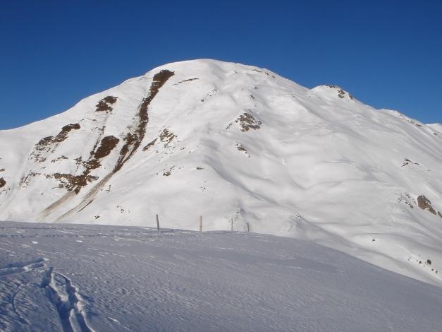Foto: Manfred Karl / Ski Tour / Drei Gipfel im ruhigeren Eck der Toferer Alm / Oberhalb der Tofernscharte / 29.01.2009 21:36:45