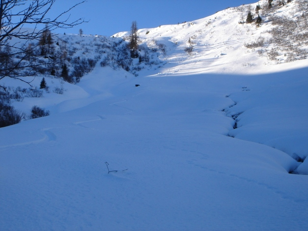 Foto: Manfred Karl / Ski Tour / Drei Gipfel im ruhigeren Eck der Toferer Alm / Im hintersten Toferntal / 29.01.2009 21:35:22