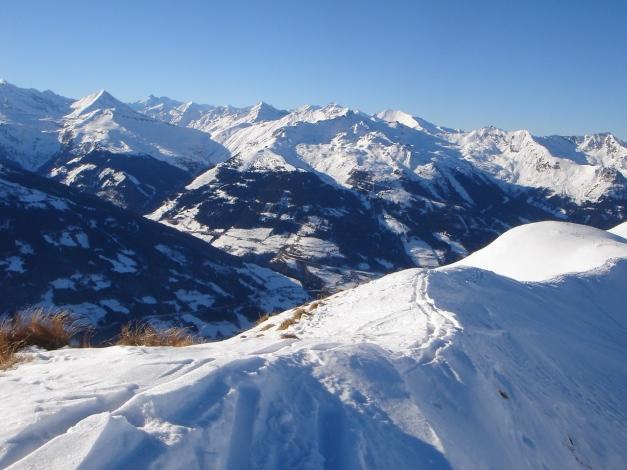 Foto: Manfred Karl / Ski Tour / Drei Gipfel im ruhigeren Eck der Toferer Alm / Am Throneck / 29.01.2009 21:32:59