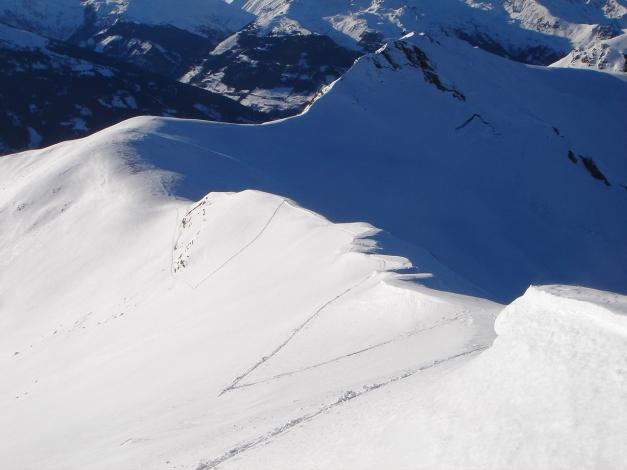 Foto: Manfred Karl / Ski Tour / Drei Gipfel im ruhigeren Eck der Toferer Alm / Aufstieg über den Westgrat / 29.01.2009 21:30:27