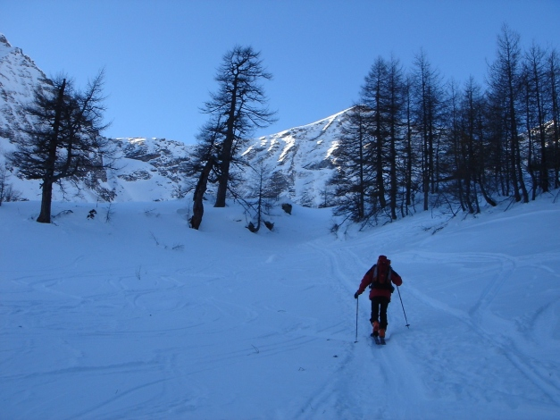 Foto: Manfred Karl / Ski Tour / Seemannwand, 2822 m / Am Weg zur Lasörnhütte / 29.01.2009 22:18:45