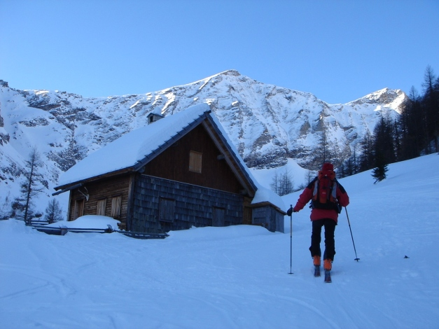Foto: Manfred Karl / Ski Tour / Seemannwand, 2822 m / Lasörnhütte / 29.01.2009 22:18:23