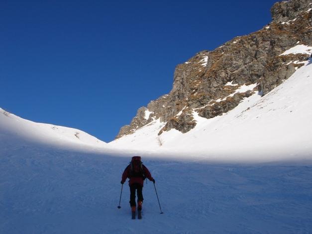 Foto: Manfred Karl / Ski Tour / Seemannwand, 2822 m / Endlich in die Sonne! / 29.01.2009 22:16:31