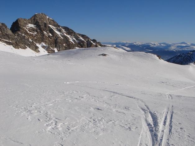Foto: Manfred Karl / Ski Tour / Seemannwand, 2822 m / Oberhalb des Lasörnsees / 29.01.2009 22:12:46