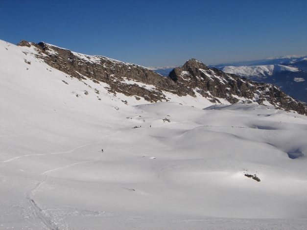 Foto: Manfred Karl / Ski Tour / Seemannwand, 2822 m / 29.01.2009 22:11:35
