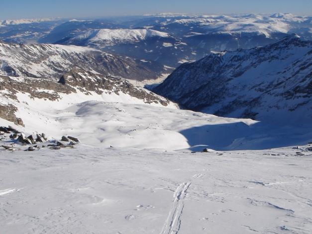 Foto: Manfred Karl / Ski Tour / Seemannwand, 2822 m / Ein weiter Weg / 29.01.2009 22:08:10