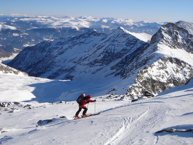 Foto: Manfred Karl / Ski Tour / Seemannwand, 2822 m / Zielsprint / 29.01.2009 22:06:24