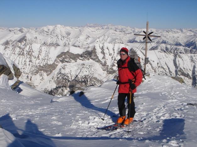 Foto: Manfred Karl / Ski Tour / Seemannwand, 2822 m / Ziel (fast) erreicht / 29.01.2009 22:06:01