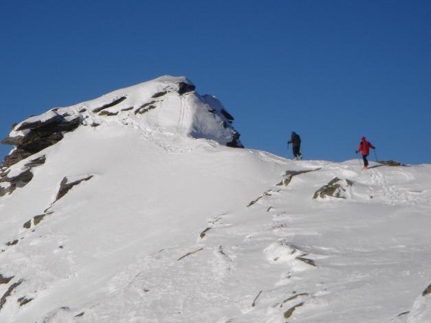 Foto: Manfred Karl / Ski Tour / Seemannwand, 2822 m / Aufstieg zum Seemannwandgipfel / 29.01.2009 22:04:50