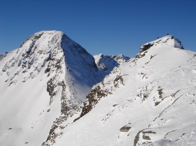 Foto: Manfred Karl / Ski Tour / Seemannwand, 2822 m / Der höchste Punkt der Seemannwand / 29.01.2009 22:04:12