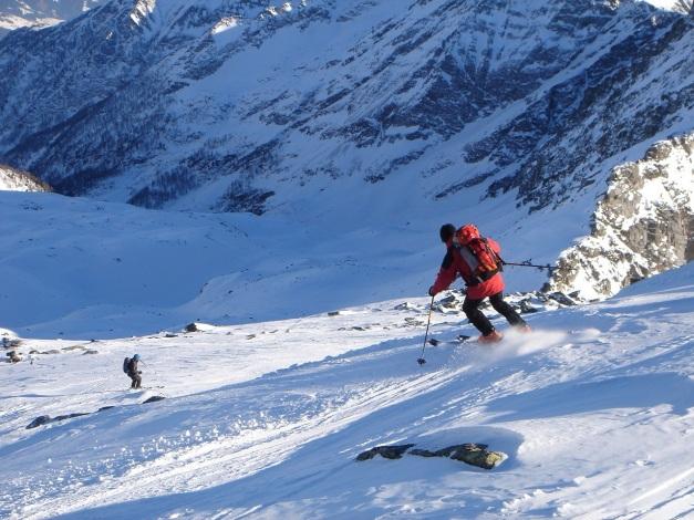 Foto: Manfred Karl / Ski Tour / Seemannwand, 2822 m / Und los gehts! / 29.01.2009 22:02:13