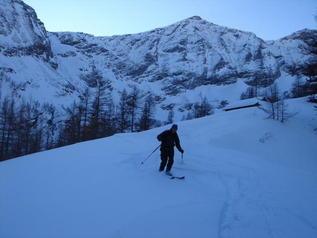 Foto: Manfred Karl / Ski Tour / Seemannwand, 2822 m / Unterhalb der Lasörnhütte / 29.01.2009 21:58:16