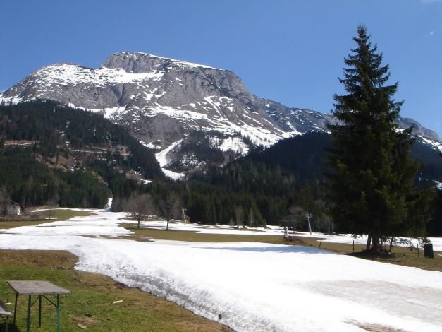 Foto: Manfred Karl / Ski Tour / DER Strichkogelklassiker über das Sulzkar und das Tiefenkar / Beginn der Tour auf der Piste / 29.01.2009 22:44:06