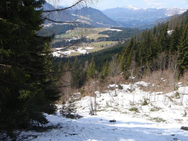 Foto: Manfred Karl / Ski Tour / DER Strichkogelklassiker über das Sulzkar und das Tiefenkar / Querung des Lawinenstriches / 29.01.2009 22:43:02