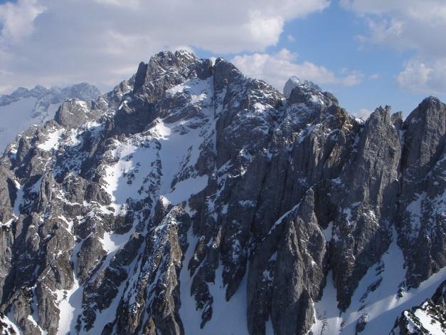 Foto: Manfred Karl / Ski Tour / DER Strichkogelklassiker über das Sulzkar und das Tiefenkar / Dachstein - Manndlkögel - Bischofsmütze - Weitkarturm - Angerstein / 29.01.2009 22:36:12