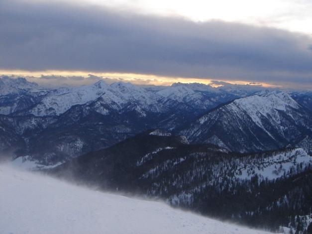 Foto: Manfred Karl / Ski Tour / Gamsknogel / Gamsknogl, 1750 m / Sonntagshorn - Rauschberg / 30.01.2009 21:36:45