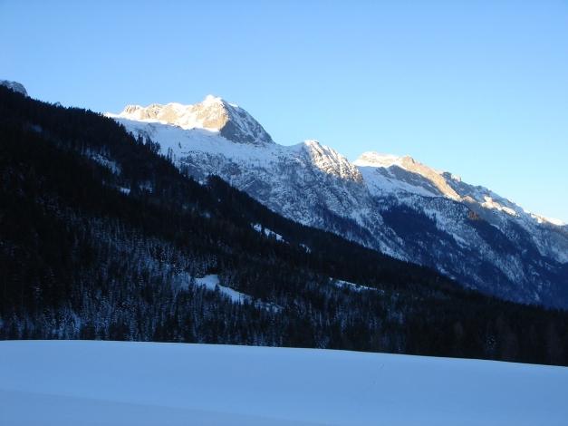 Foto: Manfred Karl / Ski Tour / Über die Gsengalm auf die Gsenghöhe / Kl. und Gr. Breitstein - Wieswand / 30.01.2009 22:01:36