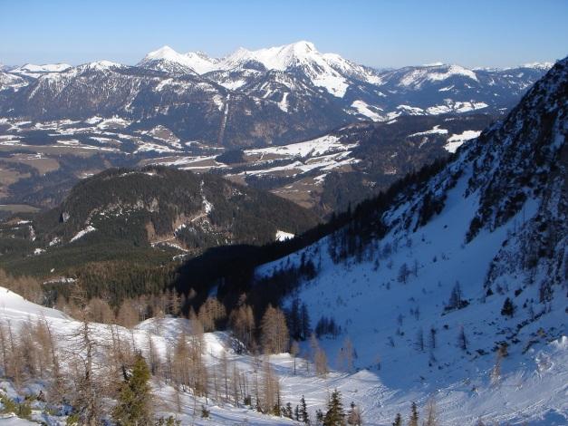 Foto: Manfred Karl / Ski Tour / Über die Gsengalm auf die Gsenghöhe / Die schöne Karmulde oberhalb der Gsengalm / 30.01.2009 21:56:42