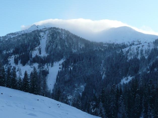 Foto: Manfred Karl / Ski Tour / Leckriedel, 1846 m / Blick gegen Seekarschneid - Seekareck / 30.01.2009 22:32:10