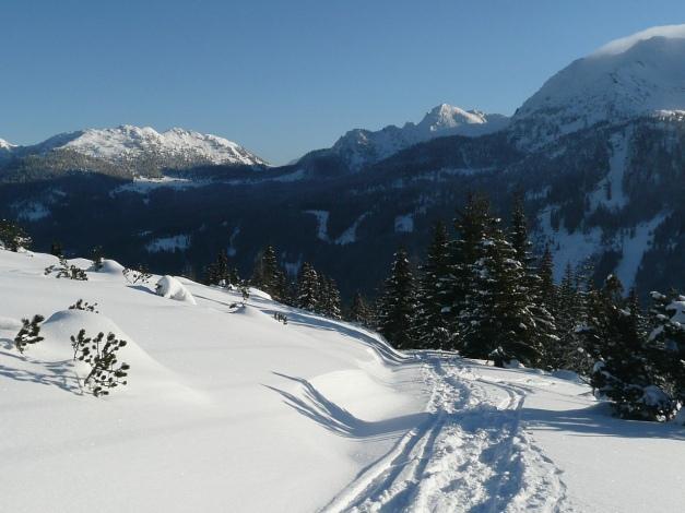 Foto: Manfred Karl / Ski Tour / Leckriedel, 1846 m / 30.01.2009 22:28:00