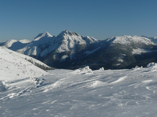 Foto: Manfred Karl / Ski Tour / Leckriedel, 1846 m / Vdr. - Htr. Geißstein - Koners / 30.01.2009 22:23:40