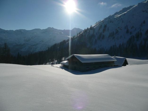 Foto: Manfred Karl / Ski Tour / Leckriedel, 1846 m / Tauernkarleitenalm / 30.01.2009 22:19:16