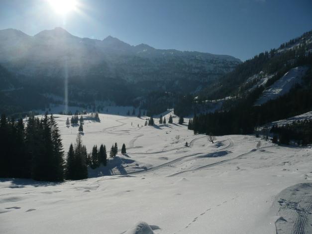 Foto: Manfred Karl / Ski Tour / Leckriedel, 1846 m / Gnadenalm / 30.01.2009 22:18:19