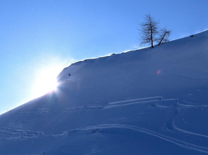 Foto: Andreas Koller / Ski Tour / Impressionen am Flüelapass (2606 m) / 09.02.2009 01:00:04
