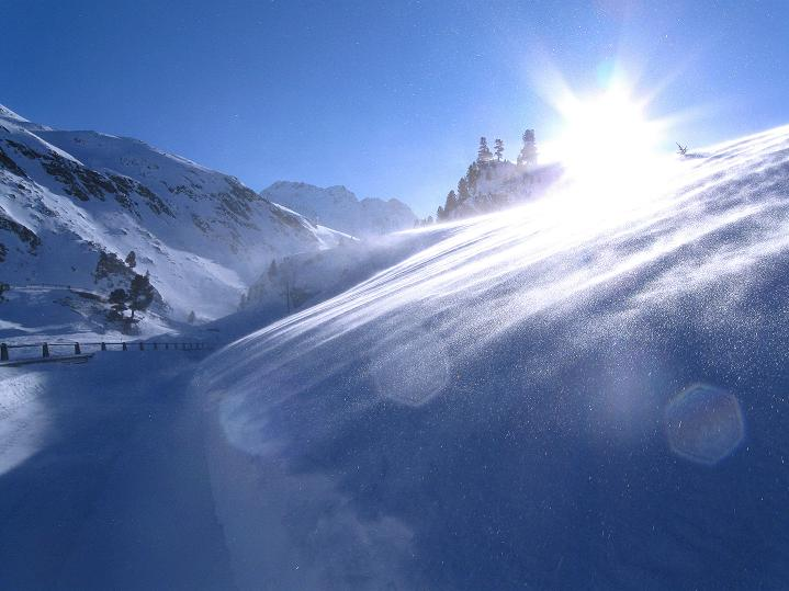 Foto: Andreas Koller / Ski Tour / Impressionen am Flüelapass (2606 m) / 09.02.2009 01:00:00